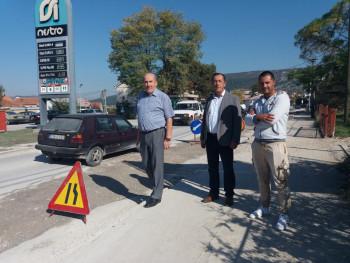 Pripreme za asfaltiranje dionice puta Bileća - Trebinje