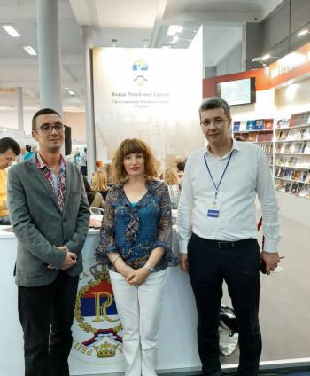 Nataša Gligorić darovala Narodnu biblioteku Nevesinje