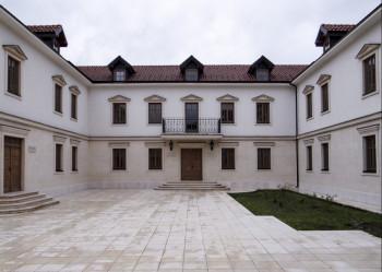 Višegrad - Andrićev institut: Predavanje Kusturice o Handkeu