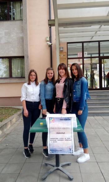 Bileća: Srednjoškolci pokazali humanost