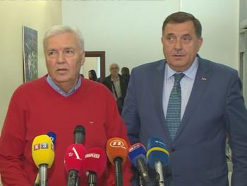 Dodik-Pavić: Saradnja SNSD-a i DNS-a stabilna i neupitna
