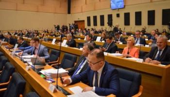 Posebna sjednica Narodne skupštine o deklaraciji SDA 11. novembra