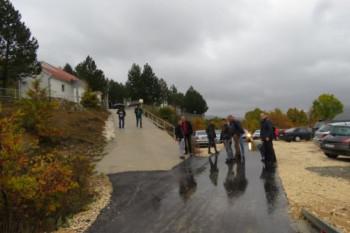 Ozvaničen završetak asfaltiranja lokalnog puta u Lukavcu