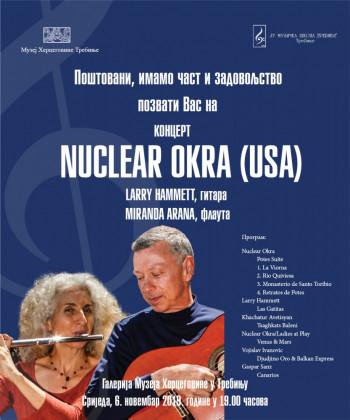 Najava: Koncert dua Nuclear Okra