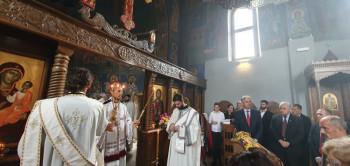 Nevesinje: Služenjem liturgije počela centralna proslava Mitrovdana