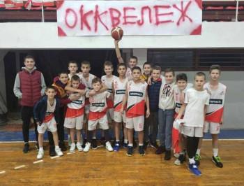 Mladi Veležovi košarkaši na završnom turniru Sport klub lige