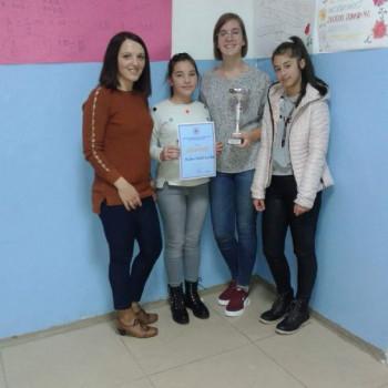 Ученице из Билеће најбоље на регионалном такмичењу о познавању Црвеног крста