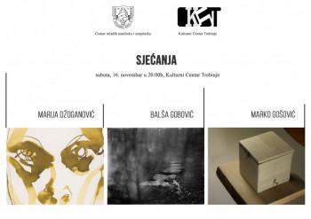 Najava: Multimedijalna izložba 'Sjećanja'