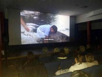 Trebinje: Prikazan film 'Siguran ispod duge'