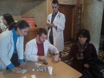 Foča: Veliki odziv besplatnom mjerenju šećera u krvi i pritiska