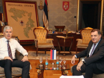 U Mostaru sastanak Dodik - Čović