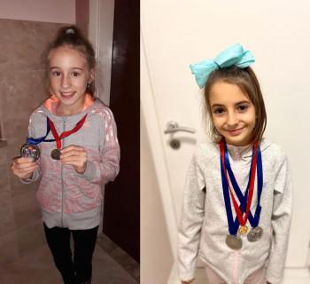 Dunja i Una donijele nove medalje u Bileću