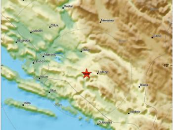 Novi zemljotres na području Ljubinja