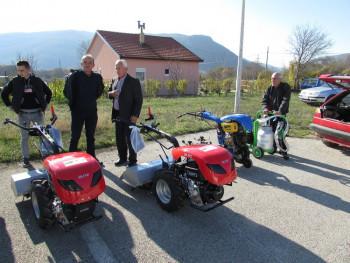 Berkovići: Isporučen dio poljoprivredne mehanizacije