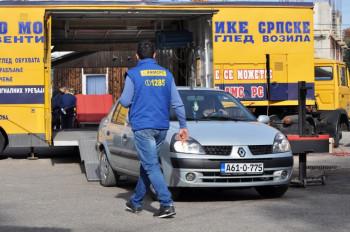 Višegrad: Vozači provjerili spremnost automobila za zimske uslove