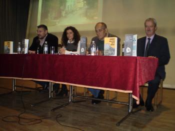 U Bileći promovisam roman 'Čekajući žutu vojsku' autora Šćepana Aleksića