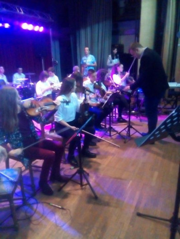 U Bileći održan koncert orkestra Centra srednjih škola iz Trebinja
