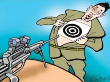 Лист Данас објавио карикатуру са пушком упереном у Вучића