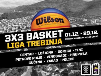 Trebinjski basketaši odmjeriće snage u  '3h3 Basket ligi Trebinja'