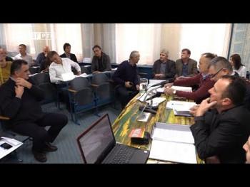 Zasjedanje gatačke skupštine u znaku štrajka Vodovoda (VIDEO)