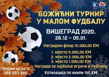 Višegrad: Božićni turnir u malom fudbalu od 26. decembra od 5. januara
