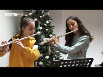 Učenice trebinjske Muzičke škole partneri predsjednika RS na humanitarnoj akciji 'S ljubavlju hrabrim srcima' (VIDEO)