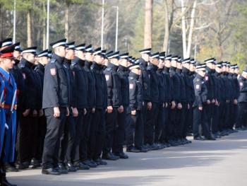Промоција 323 кадета 20. класе Јединице за полицијску обуку