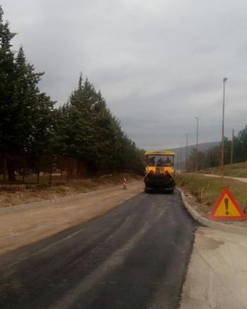 Наставак асфалтирања билећких улица