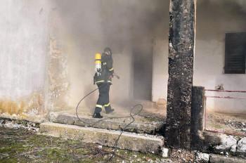 Bileća: Ugašen požar u selu Vranjska