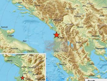 Нови земљотрес у Албанији, осјетио се у Црној Гори