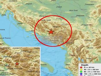 Novo podrhtavanje: Zemljotres kod Nevesinja