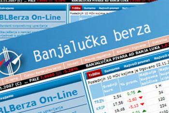 Banjalučka Berza: Današnji promet 1,46 miliona KM