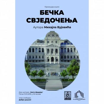 Bileća: Promocija knjige 'Bečka svjedočenja'