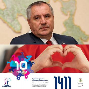 Вишкoвић: Зa aкциjу 'С љубaвљу хрaбрим срцимa' 100.000 KM