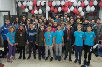 Пливачи ПВК 'Леотар' освојили 36 медаља у Мостару