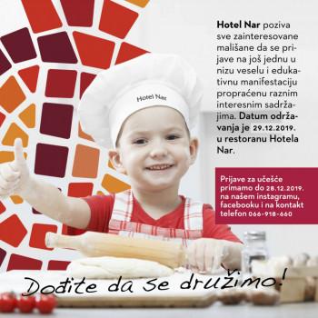 Hotel NAR poziva sve mališane na druženje: Djed Mraz i klovan Srećko su već potvrdili dolazak