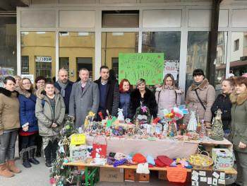 Višegrad: Donatorska izložba udruženja 'Moj prijatelj'