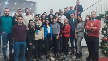 Mladi iz Foče učesnici prvih Susreta mladih Srpske i Srbije