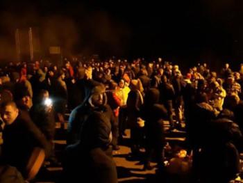 Барикаде широм Црне Горе након усвајања срамног закона против СПЦ