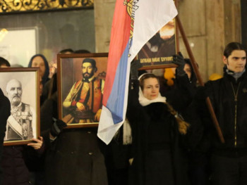 Crna Gora i Srbija, to je jedna familija: Tri zahtjeva sa protesta u Beogradu