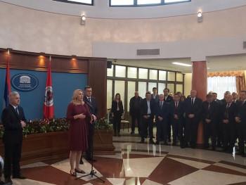 Cvijanović: Institucije moraju biti zajedno okupljene oko interesa Srpske