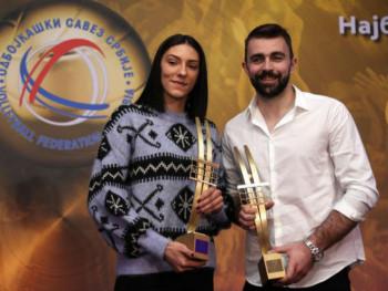 Boškovićeva i Kovačević najbolji odbojkaši u 2019.