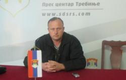 Begenišić ponovo izabran za predsjednika GO SDS Trebinje