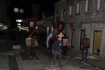 U Nevesinju održan skup podrške vjernicima u Crnoj Gori