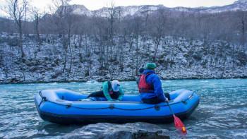 Novogodišnji rafting 'suzom Evrope'