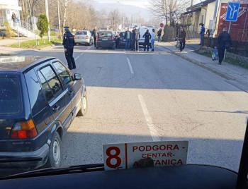 'Neobičan' sudar četiri vozila u Banjaluci