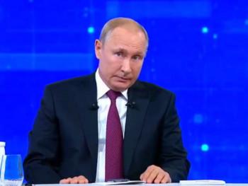 Путин честитао православцима Божић