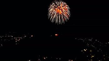 Spektakularan vatromet na trebinjskom nebu (FOTO)