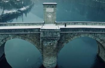 BAJKOVITO: Čarobni snježni prizori ćuprije na Drini (VIDEO)