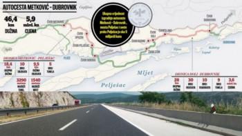 Potpisan ugovor za povezivanje Dubrovnika na mrežu autoputeva